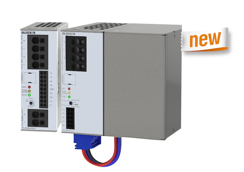 Block Power Supply and UPS System
