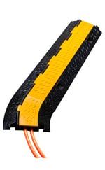 Cable Bridge with orange wires