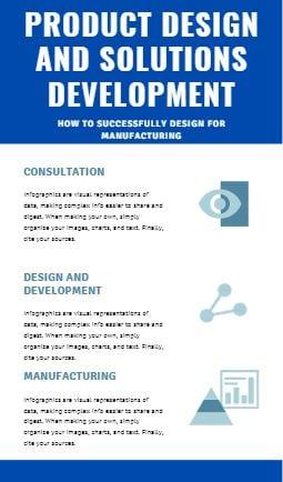 Infographic product development