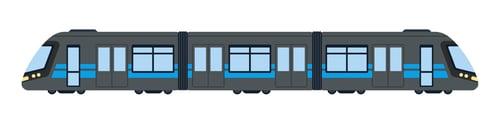 Light Rail Vehicle Icon