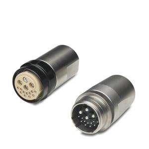 Schaltbau circular connector signal plus power