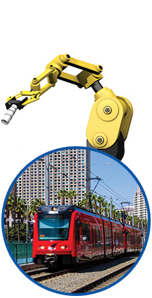 SAFETY CRITICAL COMPONENTS FOR THE TRANSPORTATION MARKET